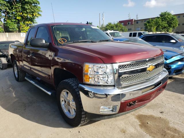 Salvage trucks for sale at Opa Locka, FL auction: 2013 Chevrolet Silverado