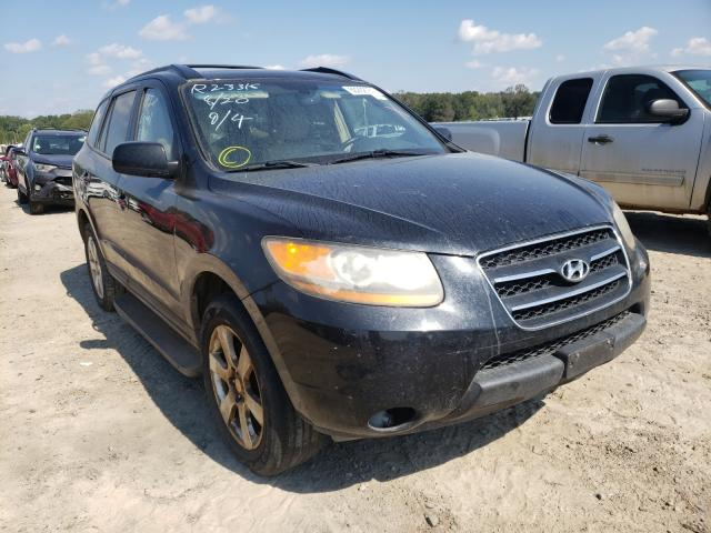 Salvage cars for sale at Conway, AR auction: 2009 Hyundai Santa FE S