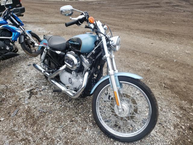 Harley-Davidson XL883 C salvage cars for sale: 2007 Harley-Davidson XL883 C