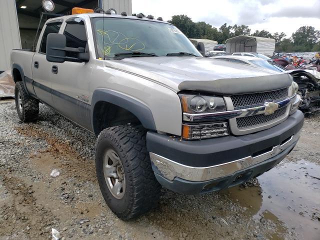 Salvage trucks for sale at Ellenwood, GA auction: 2004 Chevrolet Silverado