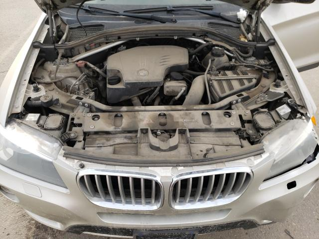 2014 BMW X3 XDRIVE2 5UXWX9C58E0D22878