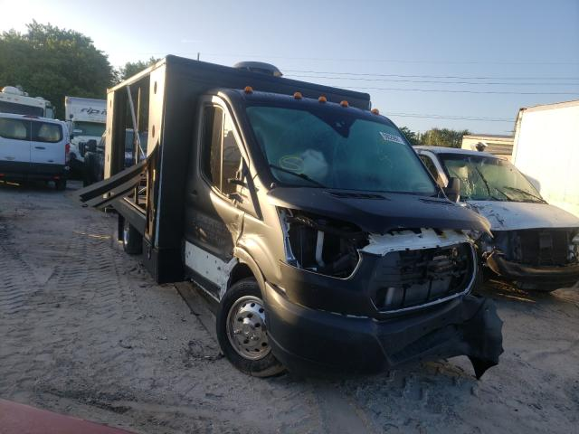 Salvage trucks for sale at Riverview, FL auction: 2018 Ford Transit T