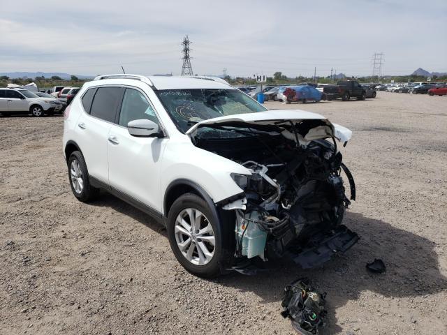 Salvage cars for sale at Tucson, AZ auction: 2016 Nissan Rogue S