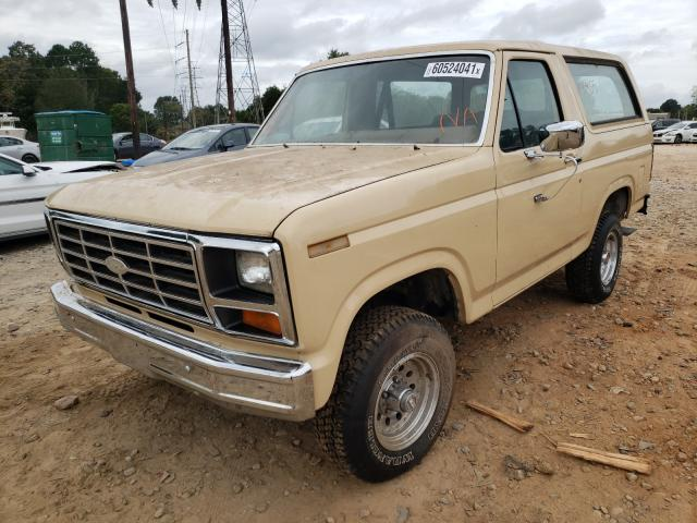 FORD BRONCO 1983 1