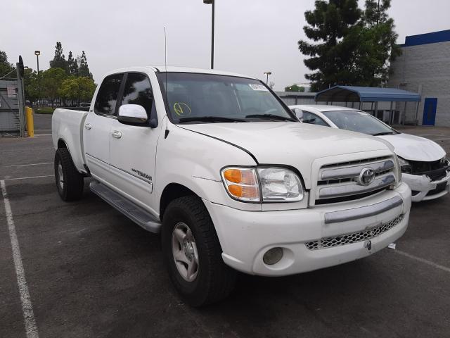 Toyota salvage cars for sale: 2005 Toyota Tundra DOU