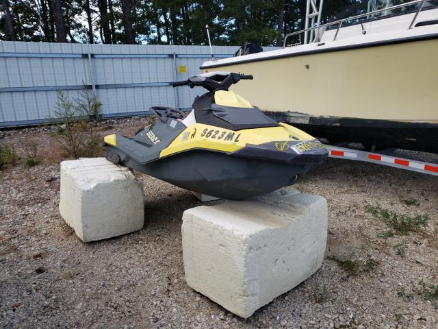 Salvage boats for sale at Brookhaven, NY auction: 2015 Seadoo Spark