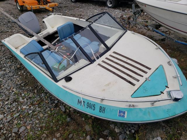 Salvage boats for sale at Candia, NH auction: 1981 Seadoo Boat