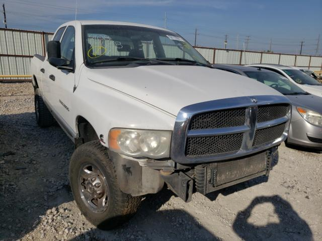 Salvage cars for sale from Copart Haslet, TX: 2005 Dodge RAM 2500 S