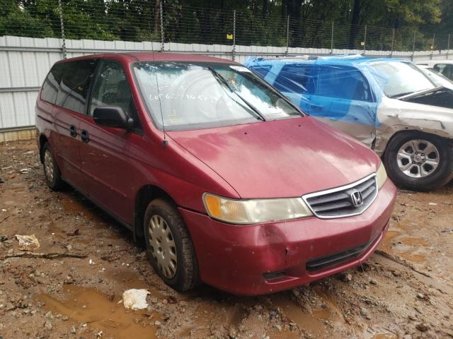 Salvage cars for sale from Copart Austell, GA: 2002 Honda Odyssey LX