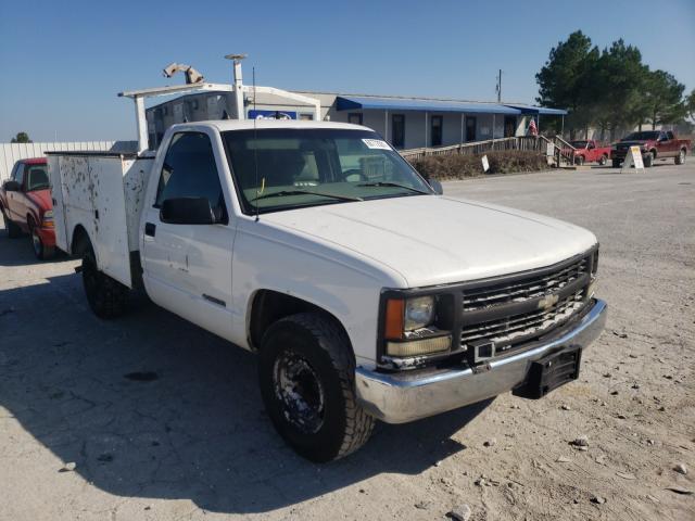 Salvage trucks for sale at Prairie Grove, AR auction: 2000 Chevrolet GMT-400 C3