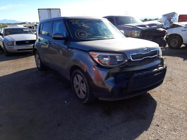 Salvage cars for sale at Tucson, AZ auction: 2014 KIA Soul