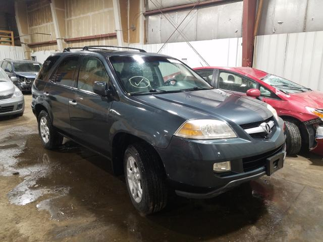Salvage cars for sale at Anchorage, AK auction: 2006 Acura MDX Touring