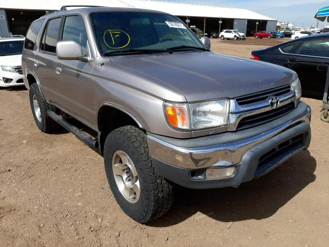 Salvage cars for sale from Copart Phoenix, AZ: 2002 Toyota 4runner SR