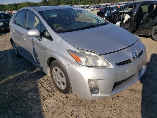 Salvage cars for sale at Conway, AR auction: 2010 Toyota Prius