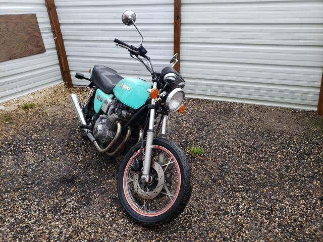 Salvage motorcycles for sale at Newton, AL auction: 1981 Suzuki Motorcycle