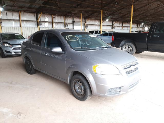 Salvage cars for sale from Copart Phoenix, AZ: 2010 Chevrolet Aveo LS