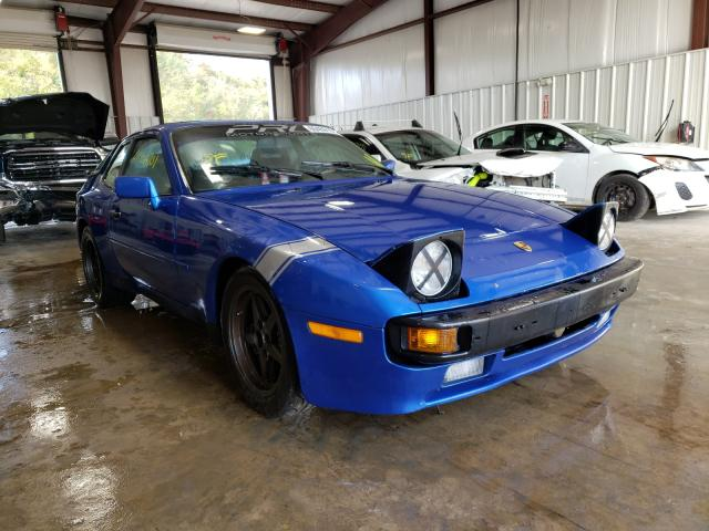 Salvage cars for sale from Copart West Mifflin, PA: 1986 Porsche 944