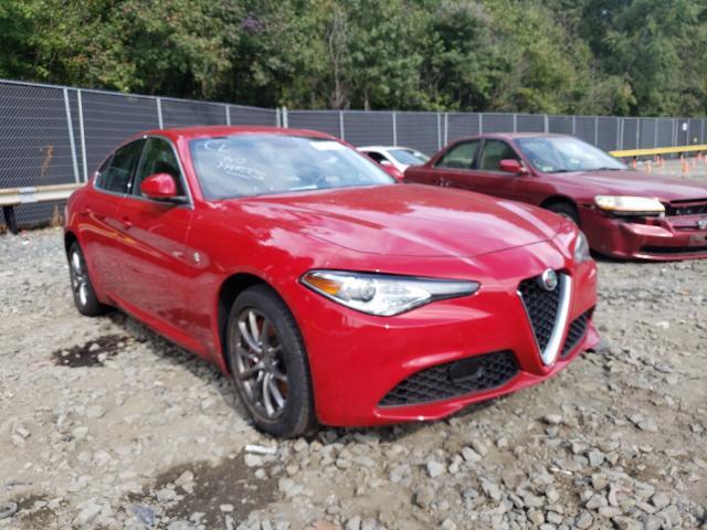 Alfa Romeo Giulia salvage cars for sale: 2019 Alfa Romeo Giulia