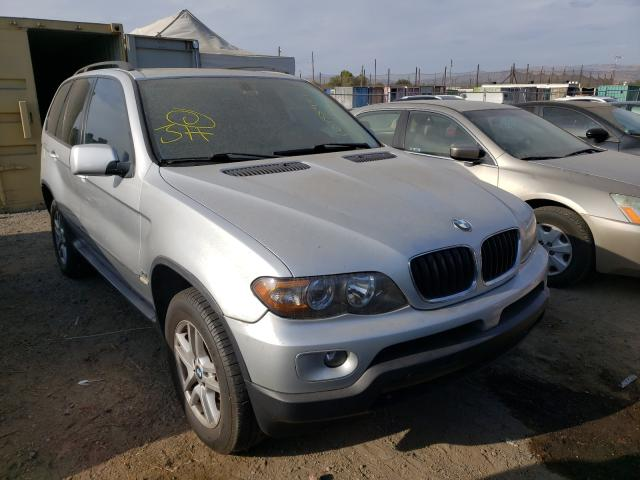 Salvage cars for sale from Copart San Martin, CA: 2006 BMW X5 3.0I