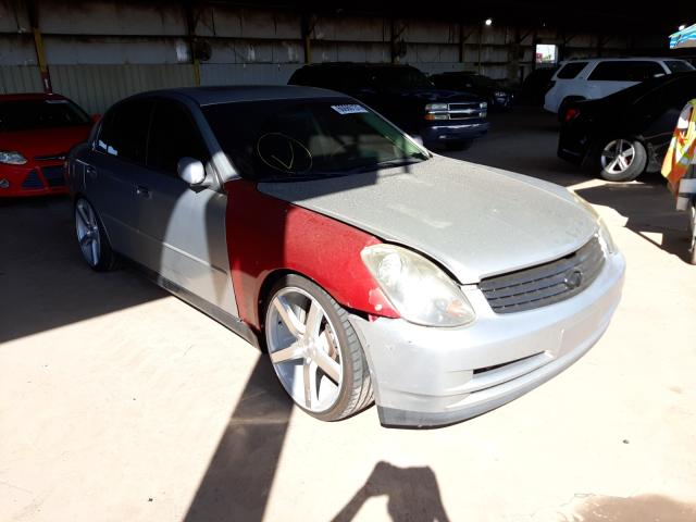 Salvage cars for sale from Copart Phoenix, AZ: 2003 Infiniti G35