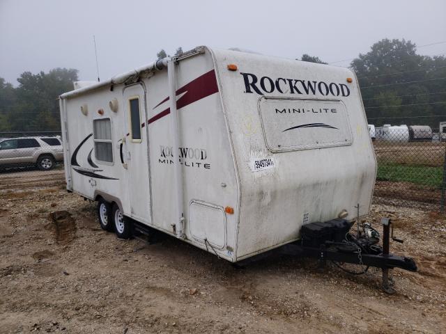 Rockwood salvage cars for sale: 2009 Rockwood Mini Lite
