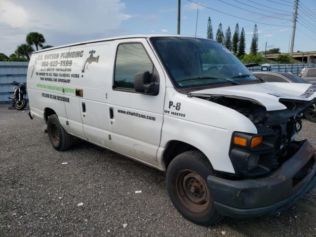 Salvage cars for sale from Copart Miami, FL: 2013 Ford Econoline