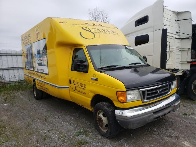 Ford Econoline salvage cars for sale: 2007 Ford Econoline