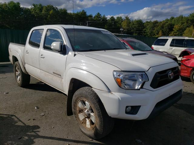 Salvage cars for sale from Copart Exeter, RI: 2013 Toyota Tacoma DOU