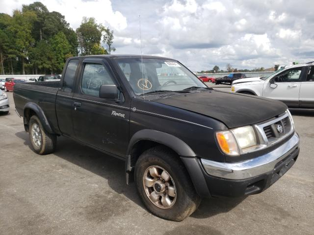 Salvage trucks for sale at Dunn, NC auction: 1999 Nissan Frontier K
