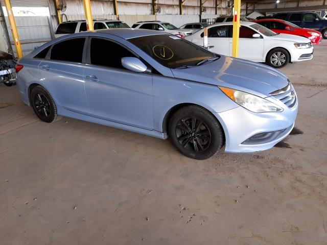 Salvage cars for sale from Copart Phoenix, AZ: 2014 Hyundai Sonata GLS