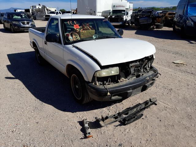 Salvage cars for sale at Tucson, AZ auction: 2003 Chevrolet S Truck S1