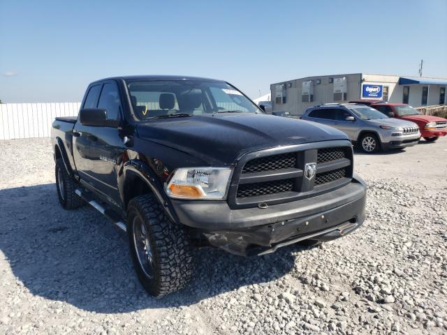 Salvage trucks for sale at Prairie Grove, AR auction: 2012 Dodge RAM 1500 S