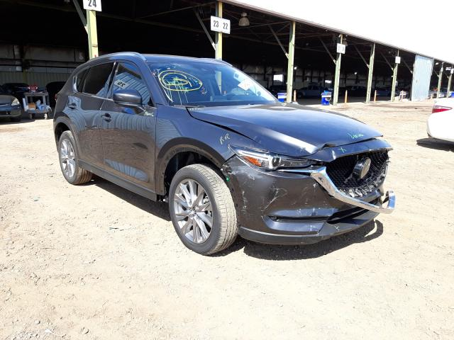 Salvage cars for sale from Copart Phoenix, AZ: 2020 Mazda CX-5 Grand Touring