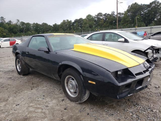 Chevrolet Camaro salvage cars for sale: 1982 Chevrolet Camaro
