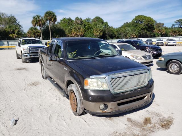Salvage cars for sale from Copart Fort Pierce, FL: 2006 Ford F150