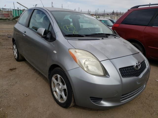Salvage cars for sale from Copart San Martin, CA: 2007 Toyota Yaris
