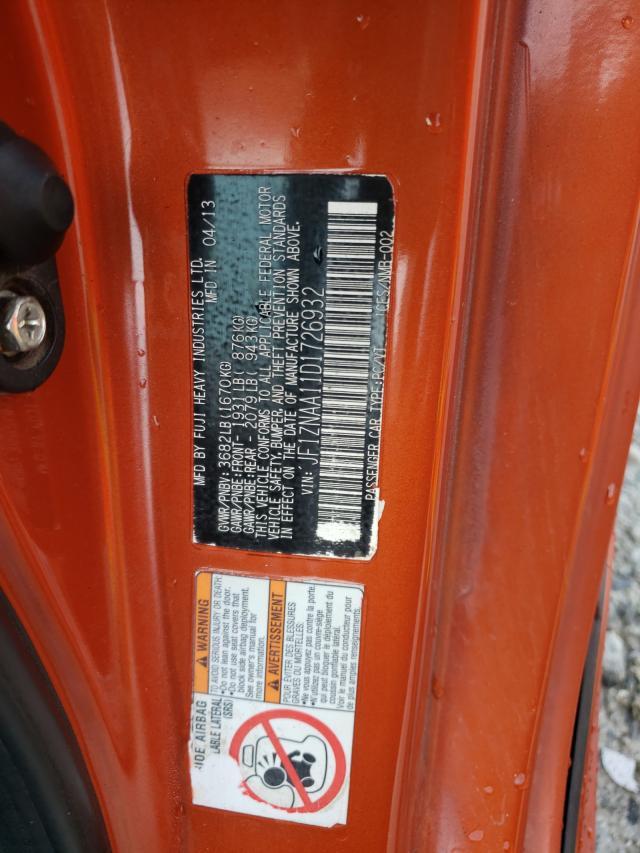 2013 TOYOTA SCION FR-S JF1ZNAA16D2718447