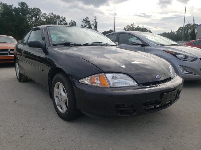 Chevrolet Cavalier salvage cars for sale: 2002 Chevrolet Cavalier