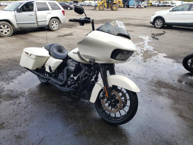 Salvage motorcycles for sale at Marlboro, NY auction: 2018 Harley-Davidson Fltrxs ROA