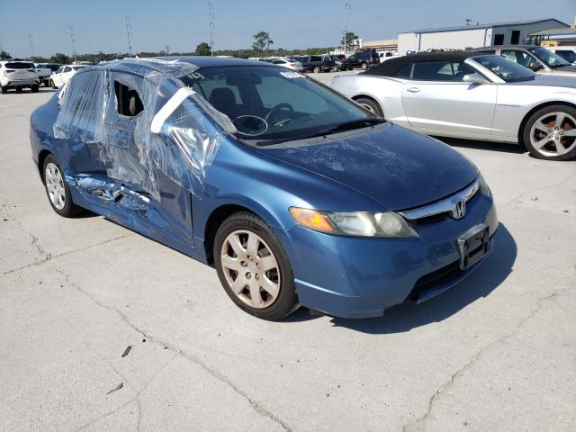 Salvage cars for sale from Copart New Orleans, LA: 2006 Honda Civic LX