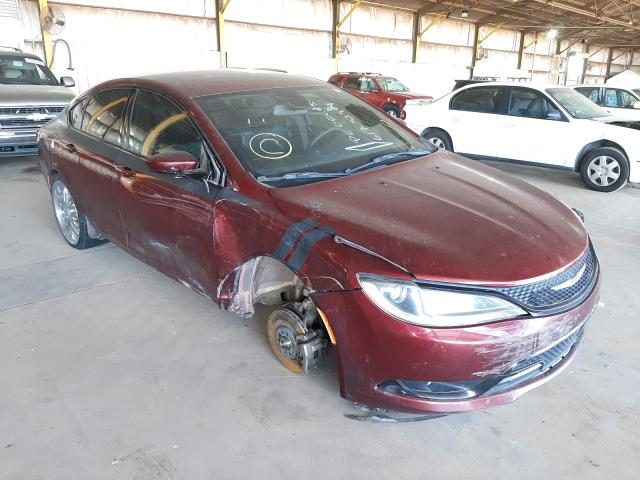 Salvage cars for sale from Copart Phoenix, AZ: 2015 Chrysler 200 S