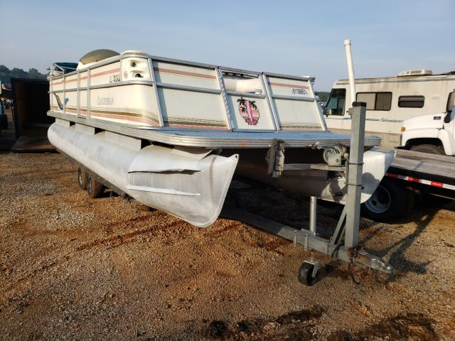 Boat salvage cars for sale: 1999 Boat Pontoon