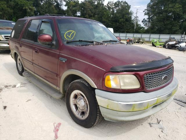 Salvage cars for sale from Copart Ocala, FL: 2001 Ford Expedition
