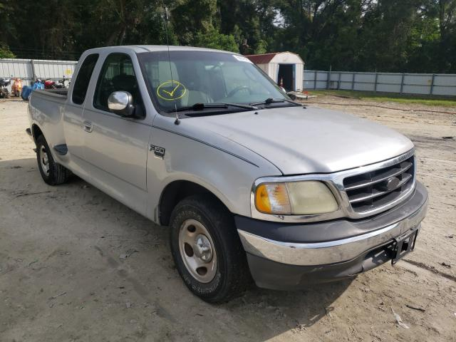 Salvage cars for sale from Copart Ocala, FL: 2002 Ford F150