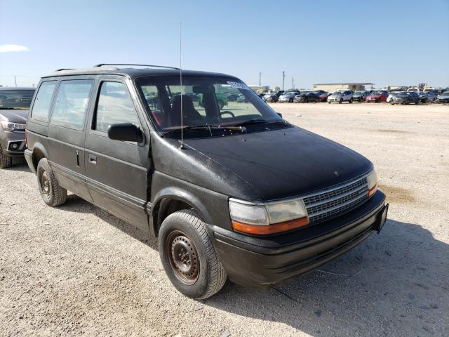Plymouth Voyager SE salvage cars for sale: 1993 Plymouth Voyager SE