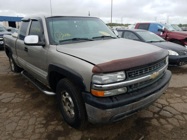 Salvage cars for sale from Copart Woodhaven, MI: 2002 Chevrolet Silverado