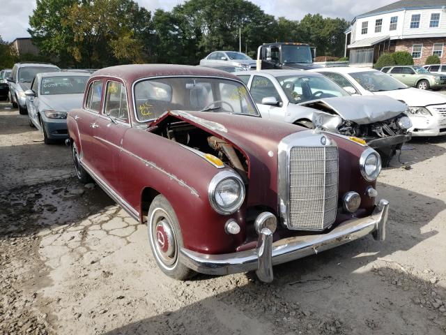 Salvage cars for sale at Billerica, MA auction: 1959 Mercedes-Benz 220 S