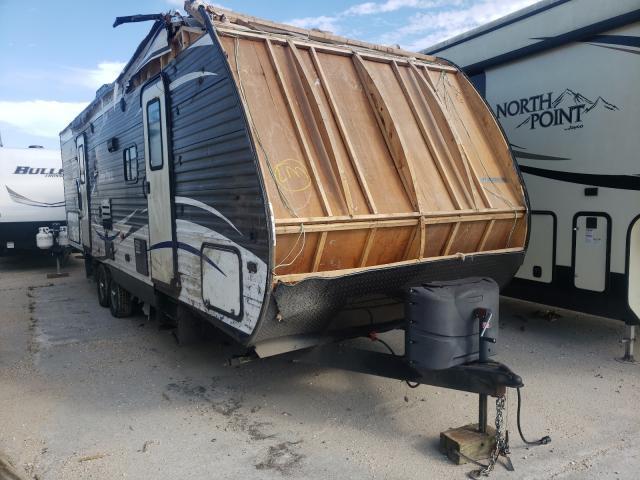 Keystone salvage cars for sale: 2018 Keystone Aspen Trai