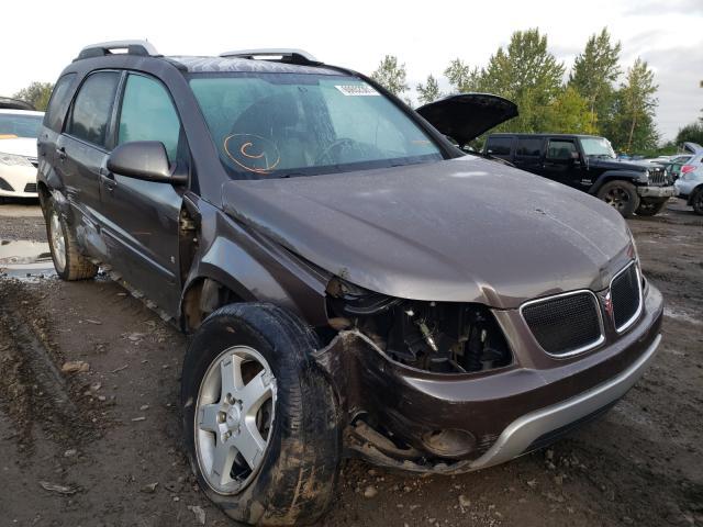 Pontiac Torrent salvage cars for sale: 2008 Pontiac Torrent