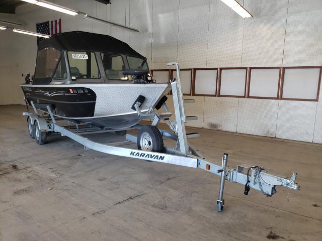 Alumacraft salvage cars for sale: 2015 Alumacraft Boat